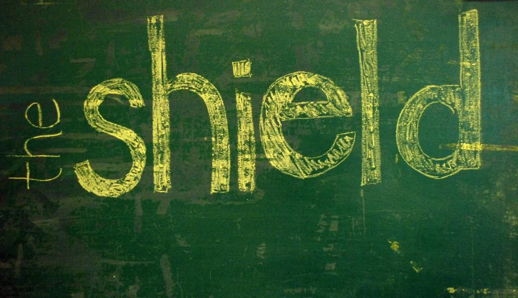 chalk shield
