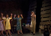 "A scene form ""Bonn and Clyde,"" the BroadwayWorld austin Awards Nominee. Photo by Seren Villwock."