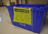 Environmental Knights raise awareness of recycling