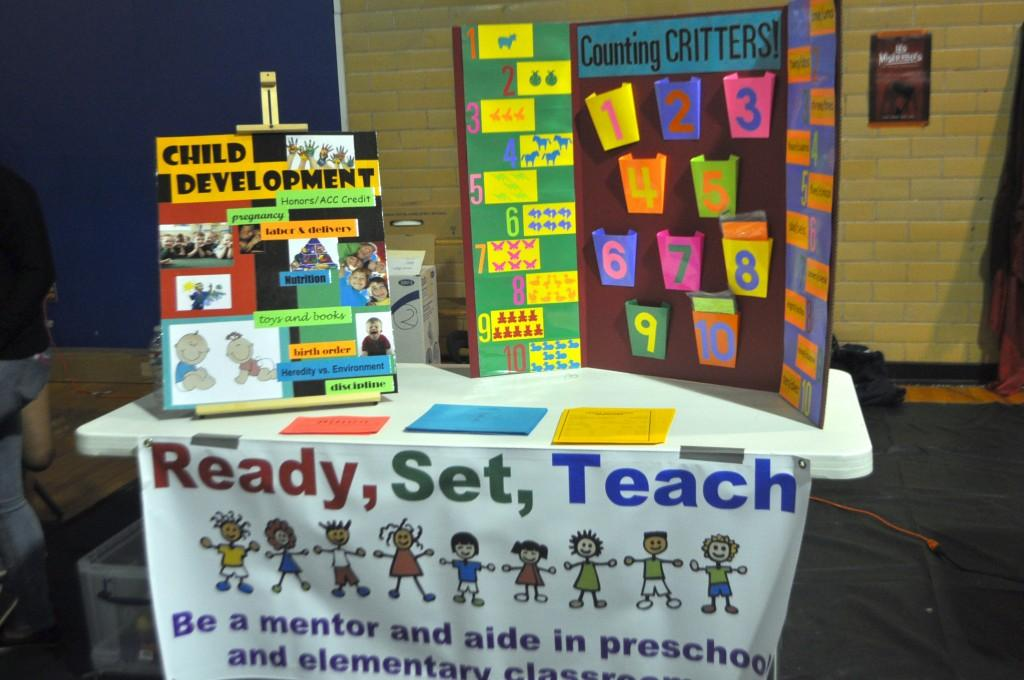 Ready, Set, Teach gives students opportunities in mentoring and helping children be successful in school and life. Students will serve as aides and mentors in preschool and elementary classrooms. They will be able to interact with children one-on-one, and in small and large groups.