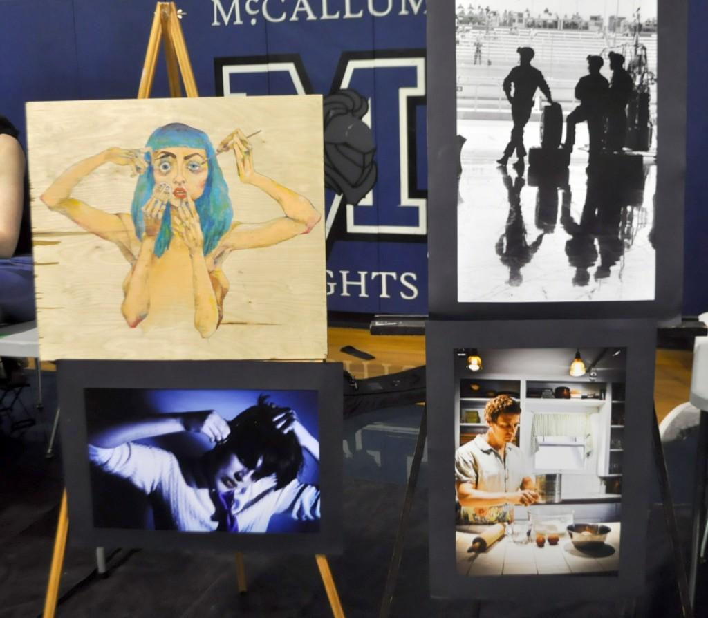 Painting, printmaking, sculpture and photography are four art electives offered at McCallum. Join these electives and get creative!