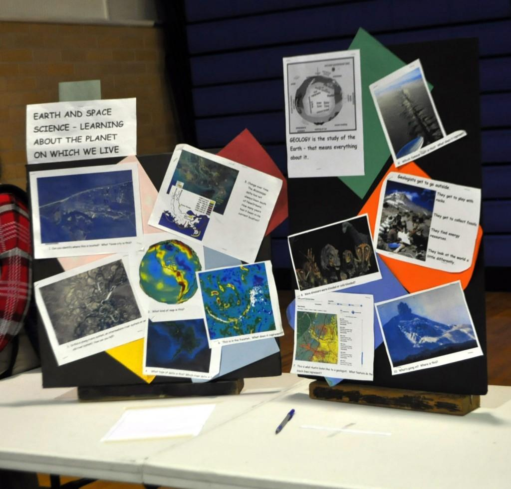 Geology and Earth and Space sciences are 4th option science classes that focus on the planet on which we live.