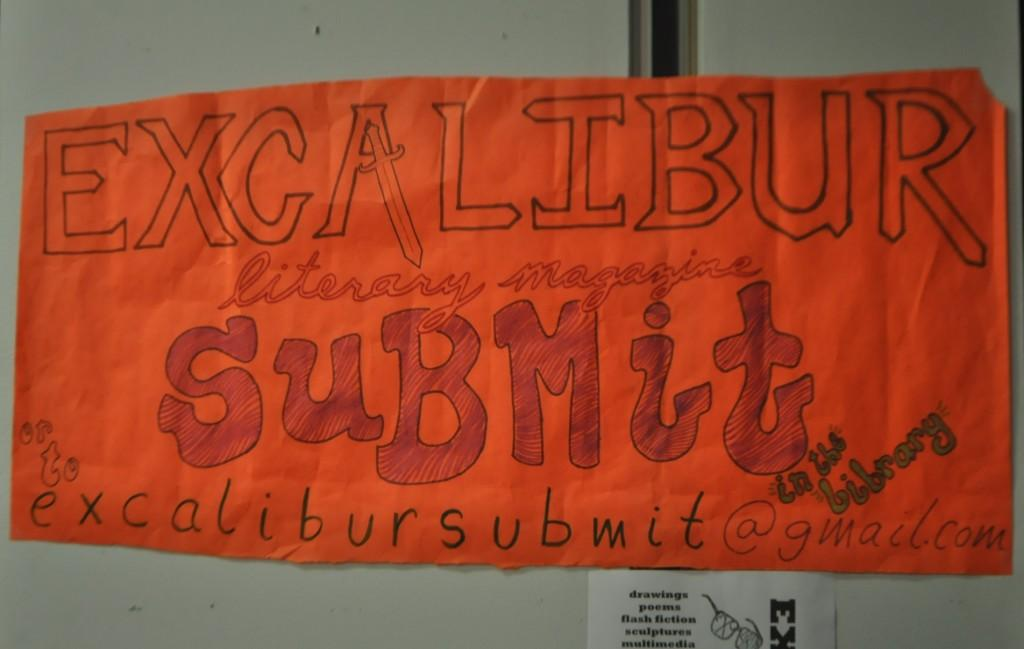 The Excalibur submission deadline is April 21.