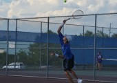 Tennis team takes on LBJ