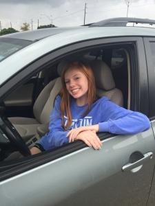sarah driving
