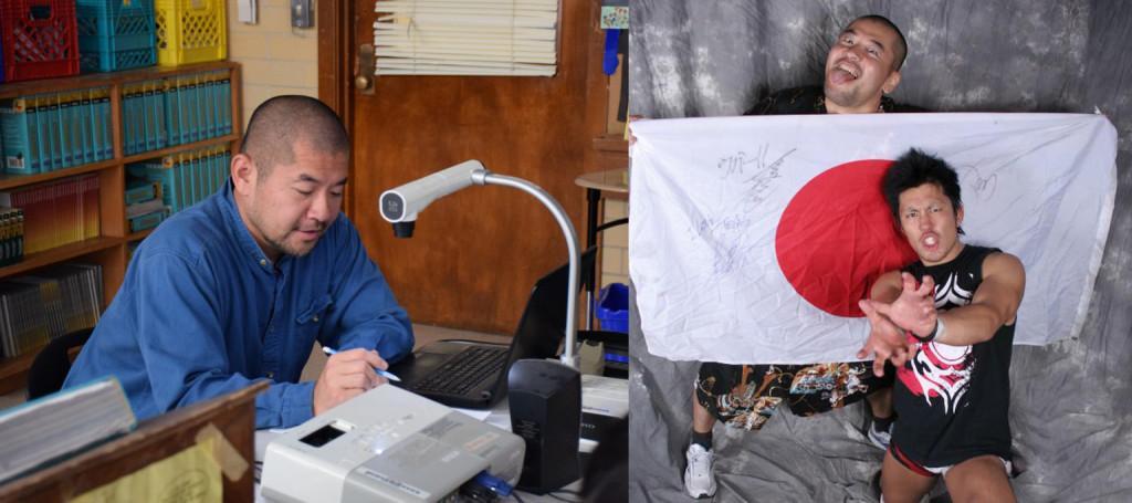 Mr. Nishido's awesome alter ego