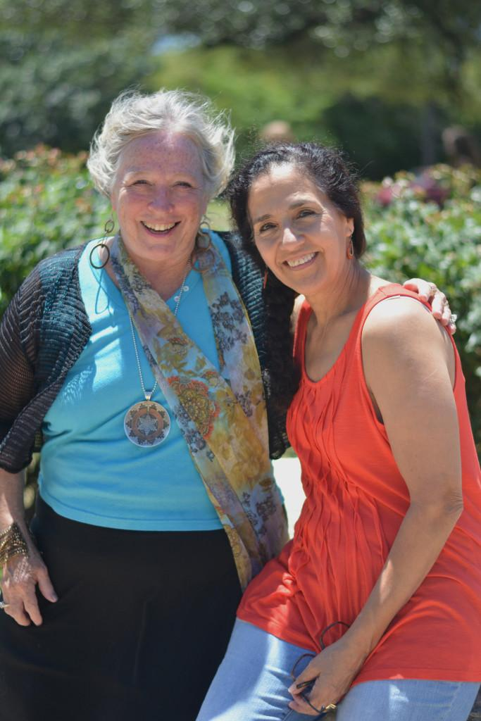"""After 57 combined years of counseling and teaching, Mindy Croom and Lucia Facundo will be retiring at the end of the 2016-2017 school year. """"My favorite part of my job is the connection with the people,"""" Croom said. """"Whether it's the students, the parents or the staff members, that's absolutely what makes me happy to brush my teeth and come to school."""" Photo by Dave Winter."""