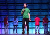 Junior Andrea Barrera-Castro performs in the teen theatre collective of Creative Action, one of the local organizations that could be threatened by President Trump's proposed budget cuts. Photo supplied by Barrera-Castro.