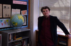 Creedle's involvement in Model United Nations helped him expand his perspective from local to global issues. Photo by Liam Wilson.