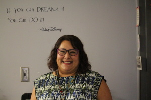Cristela Garcia is working her first year as a McCallum counselor. Garcia is also a former McCallum math teacher.