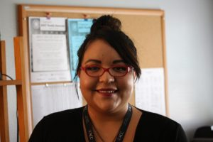 Daniela Galvan is also in her first year as a McCallum counselor. This isn't Galvan's first year at McCallum, though, as she worked as an intern last year.